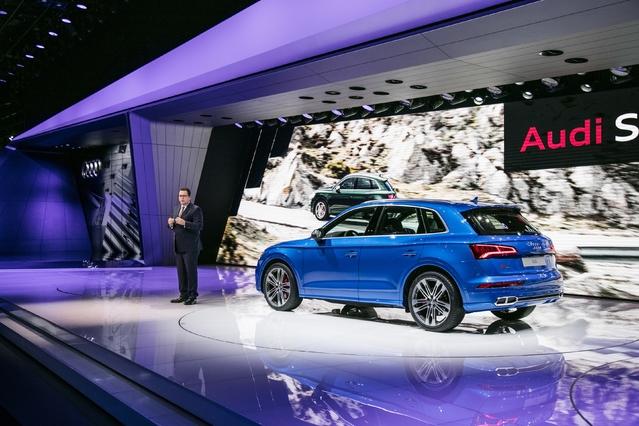Audi S Q5: plaisir d'essence - En direct du salon de Genève 2017