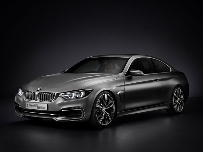 Voici la BMW Série 4 Coupé Concept. En avance elle aussi