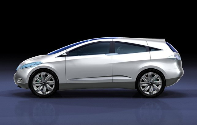 Salon de Chicago 2008 : Hyundai présente son i-Blue Fuel Cell Concept