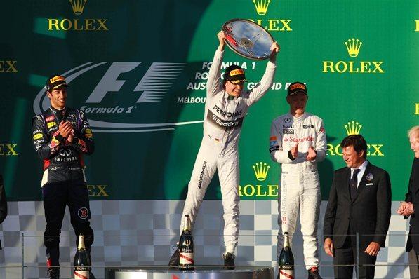 F1 GP d'Australie : Rosberg a du jus, les autres beaucoup moins