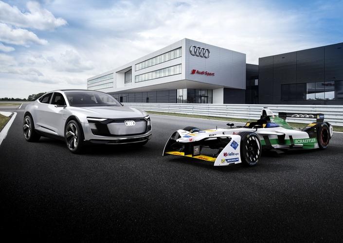 Audi dévoile sa première monoplace électrique