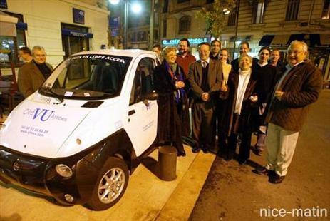 Service CitéVu à Antibes : davantage de voitures éléctriques en libre accès !
