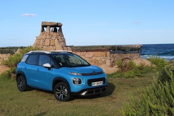 Le Citroën C3 Aircross arrive en concession : nouvel air