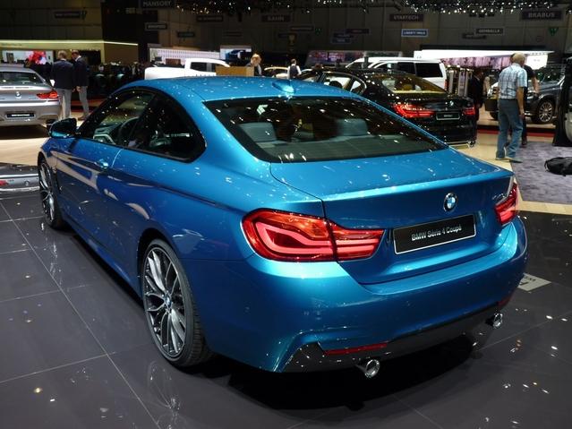 BMW Série 4 restylée: coup de pinceau - Vidéo en direct du Salon de Genève 2017