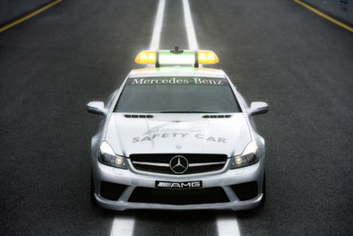 F1: Mercedes SL 63 AMG, safety car 2008