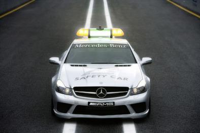 F1: Mercedes SL 63 AMG, safety car 2008
