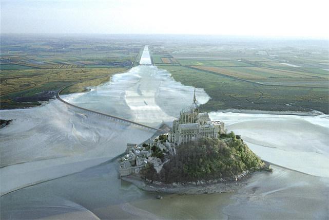 Tourisme les travaux de d sensablement seront termin s en 2015 au lieu de 2012 - Travaux mont saint michel ...