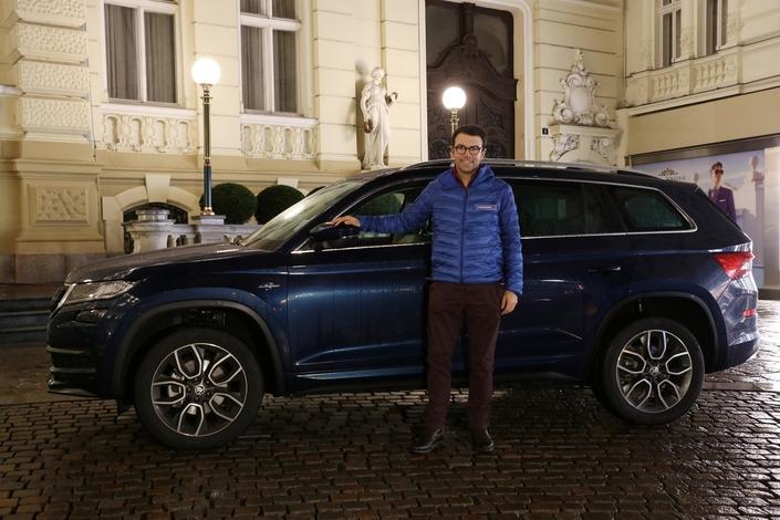 Après 14 heures de route depuis Paris le premier jour, arrivée au Grandhotel Pupp de Karlovy Vary. Pas de Vesper Lynd à l'horizon...