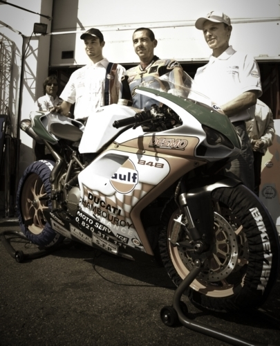 Bol d'Or - La Ducati n° 78 gagne en Open
