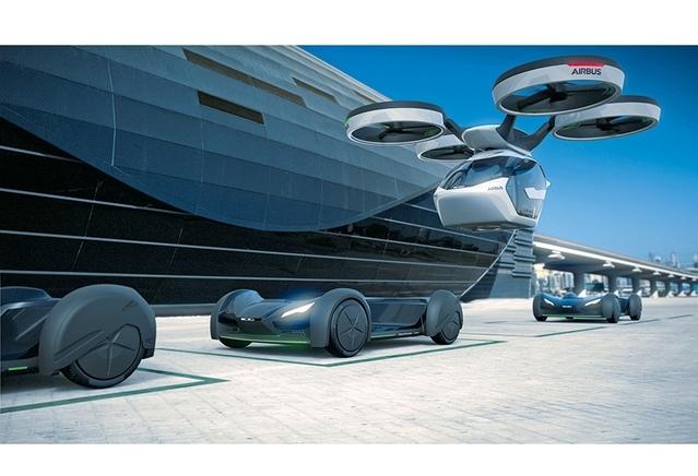 """""""Grâce à la possibilité de combiner la capsule à d'autres moyens de transport public, le Pop.Up offre une expérience de voyage en continue. L'utilisateur peut rester dans la même capsule pendant toute la durée du voyage, sans se soucier du passage entre différents modes de transport"""", détaille Airbus."""