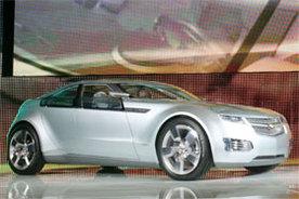 Grammy Awards : le Chevrolet Volt Concept Car, la star verte sur le tapis rouge !