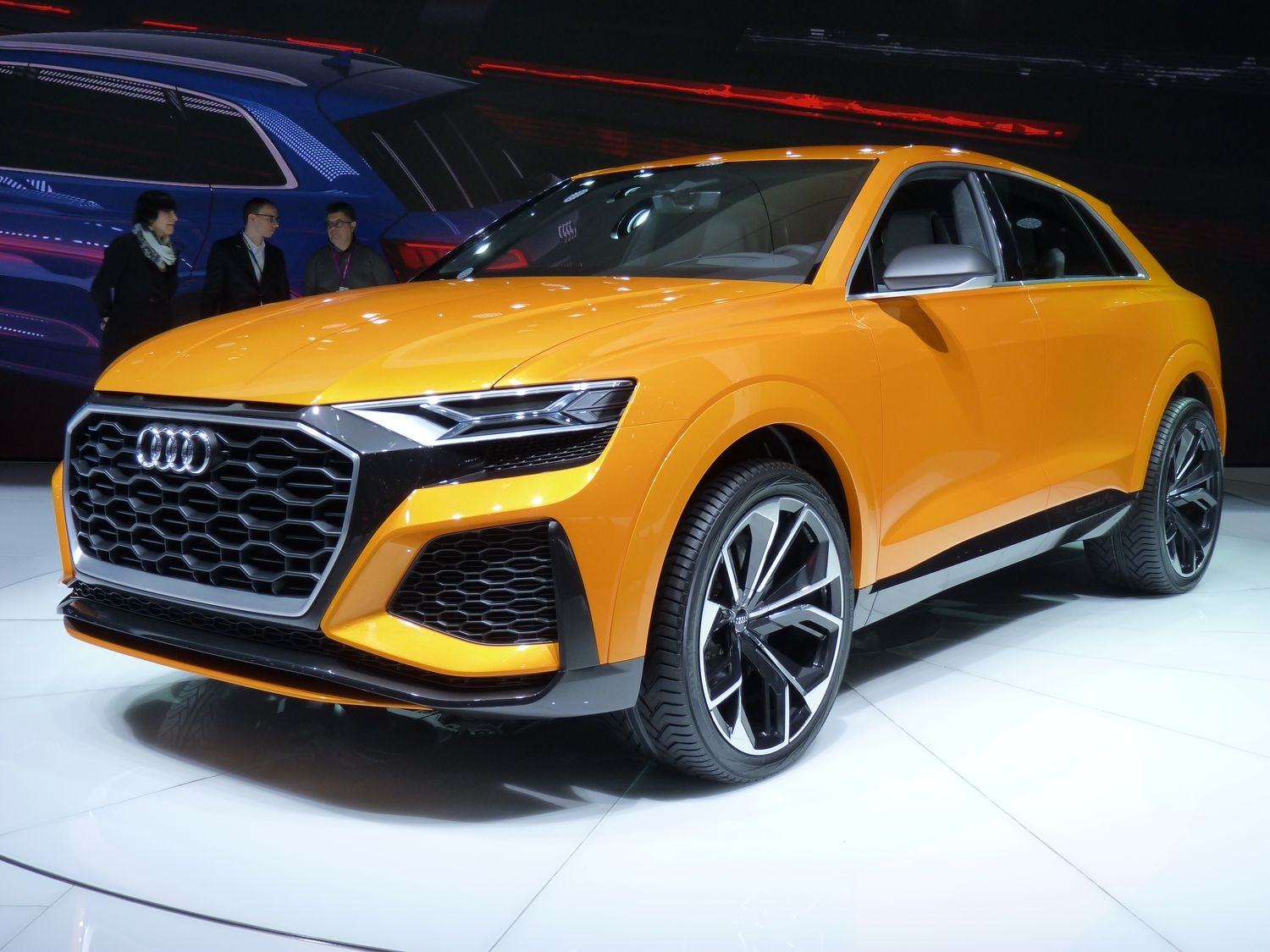 audi q8 sport concept futur sq8 en direct du salon de gen ve 2017. Black Bedroom Furniture Sets. Home Design Ideas