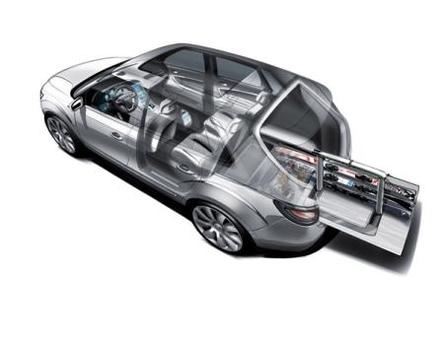 Saab 9-4X BioPower Concept ou le transport vert pour les activités de plein-air !