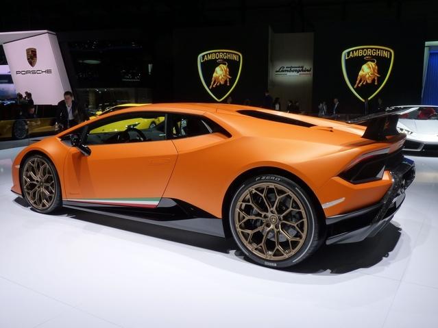 Lamborghini Huracan Performante: c'est écrit dessus - En direct du Salon de Genève 2017