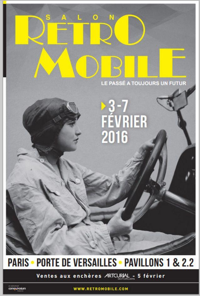 Rétromobile 2016 : les premières infos