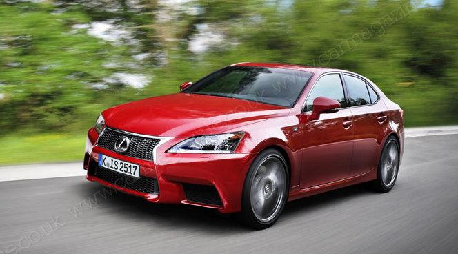Future Lexus IS : comme ça ?