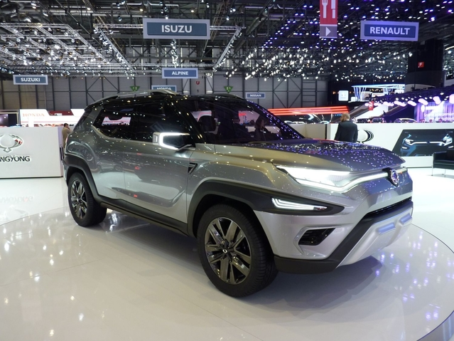 Ssangyong XAVL Concept: un de plus - En direct du Salon de Genève 2017