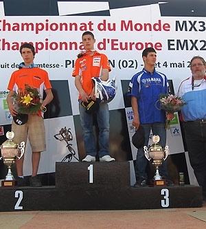 Championnat d'Europe MX 2 à Plomion