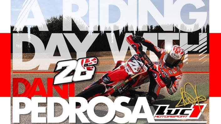 "Luc1: ""A riding day with Dani Pedrosa"" en vidéo"