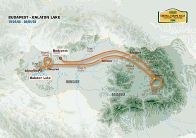 Central Europe Rally: déjà 70 inscrits en auto