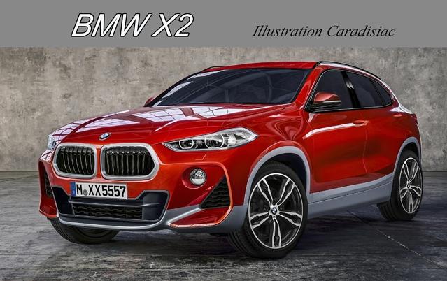 X2: un nouveau SUV sportif pour BMW