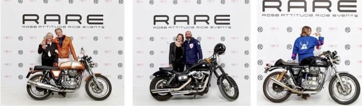 R.A.R.E 2017, ride à moto solidaire: 7 octobre à Bordeaux et à Lyon