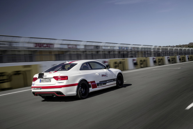 L'Audi RS5 TDI Compétition à compresseur électrique bat des records