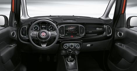 Fiat 500L City Cross : de la hauteur et des couleurs