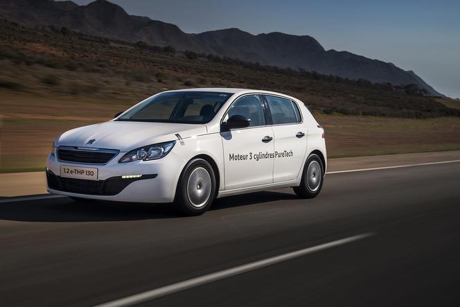 2.85l/100 km pour la Peugeot 308 1.2l e-THP 130. Oui mais