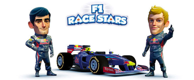 f1 race stars le test. Black Bedroom Furniture Sets. Home Design Ideas