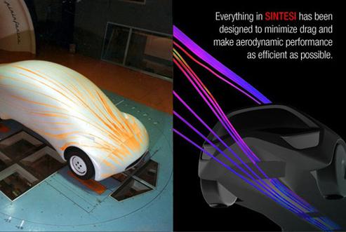 Salon de Genève 2008 : Pininfarina créé la sensation verte avec son concept Sintesi