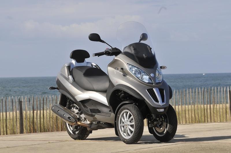 Essai Piaggio MP3 LT 400 cm3 Touring : changement de nom