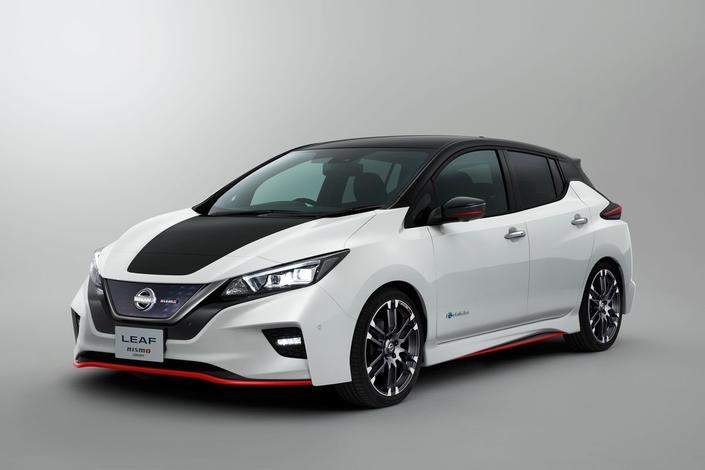 Nissan dévoile la Leaf Nismo Concept