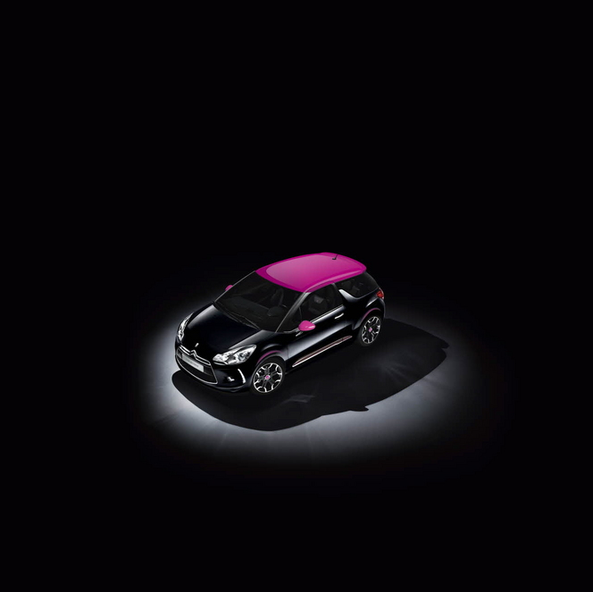 Nouvelle Citroën DS3 Dark Rose: à partir de 20250 €
