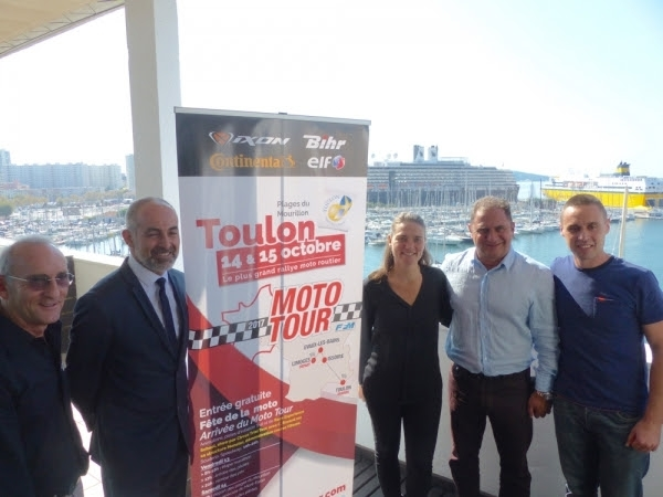 Moto Tour 2017: Toulon pour le finish