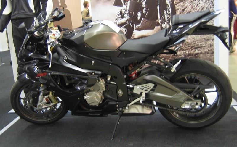 En direct du Festival de la moto : la BMW S 1000 RR