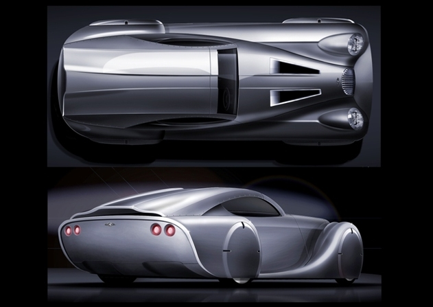 Salon de Genève 2008 : le concept Morgan LifeCar de Morgan Motor Compagny