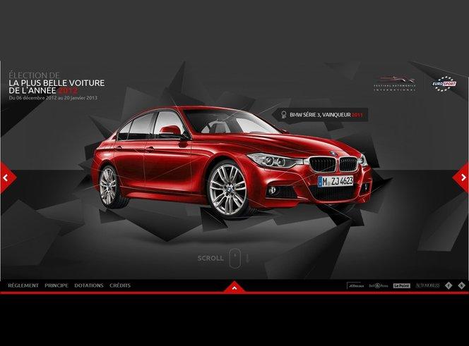 Plus belle voiture de l'année 2012 : votez !