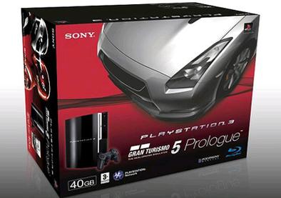 Pack PS3 + Gran Turismo 5 Prologue : 399€ dès le 26 mars