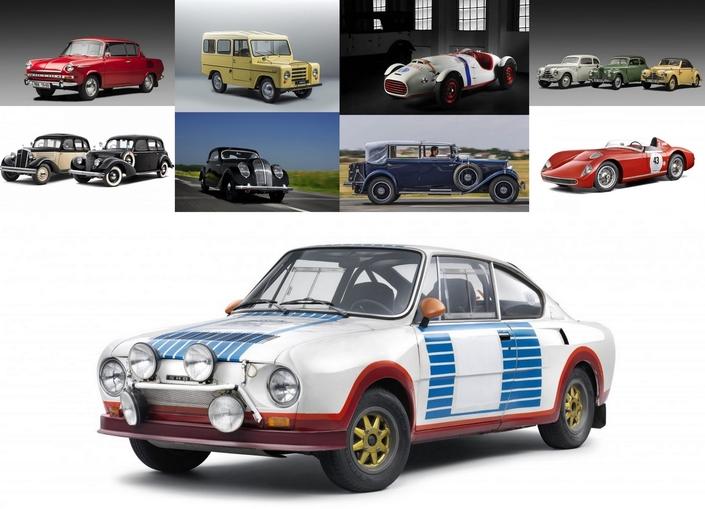 De la 130 RS de rallye (photo ci-dessus) au SUV Trekka, en passant par la splendide barquette 1100 OHC aux faux airs de Ferrari, le musée Skoda témoigne d'un riche passé.