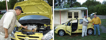 Blade Electric Vehicles/Australie : une Hyundai Getz, devenue 100% électrique, nommée Blade Runner