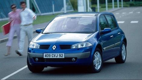 La Renault Mégane 2 5 portes avant restylage.