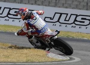 Supermotard, championnat internationnal d'Italie 2012, round 4: Hermunen reste leader