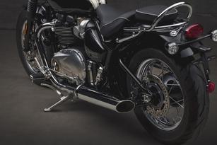 En direct de l'usine Triumph : le Bonneville Speedmaster 2018