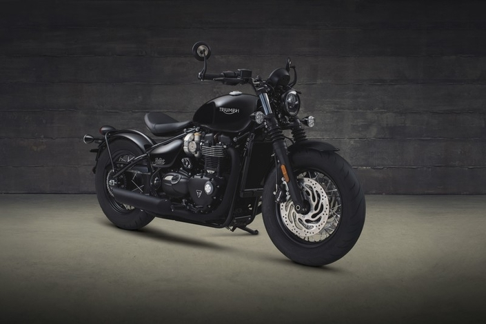 En direct de l'usine Triumph : le 1200 Bobber Black 2018