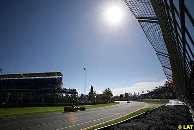 Formule 1 - Australie: Melbourne joue la montre