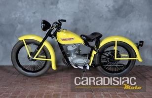 Les motos...