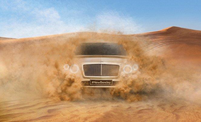 Bentley tease déjà son futur SUV!