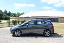 Le monospace de BMW est compact dans cette version 5 places (le Gran Tourer va bientôt arriver avec 21cm de plus), il mesure 4,34m.