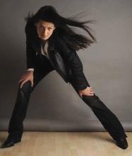 Blouson E-Scalium: E-Squad tanne le cuir au féminin